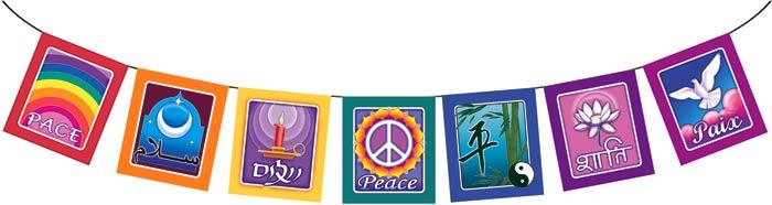 peace on earth flag
